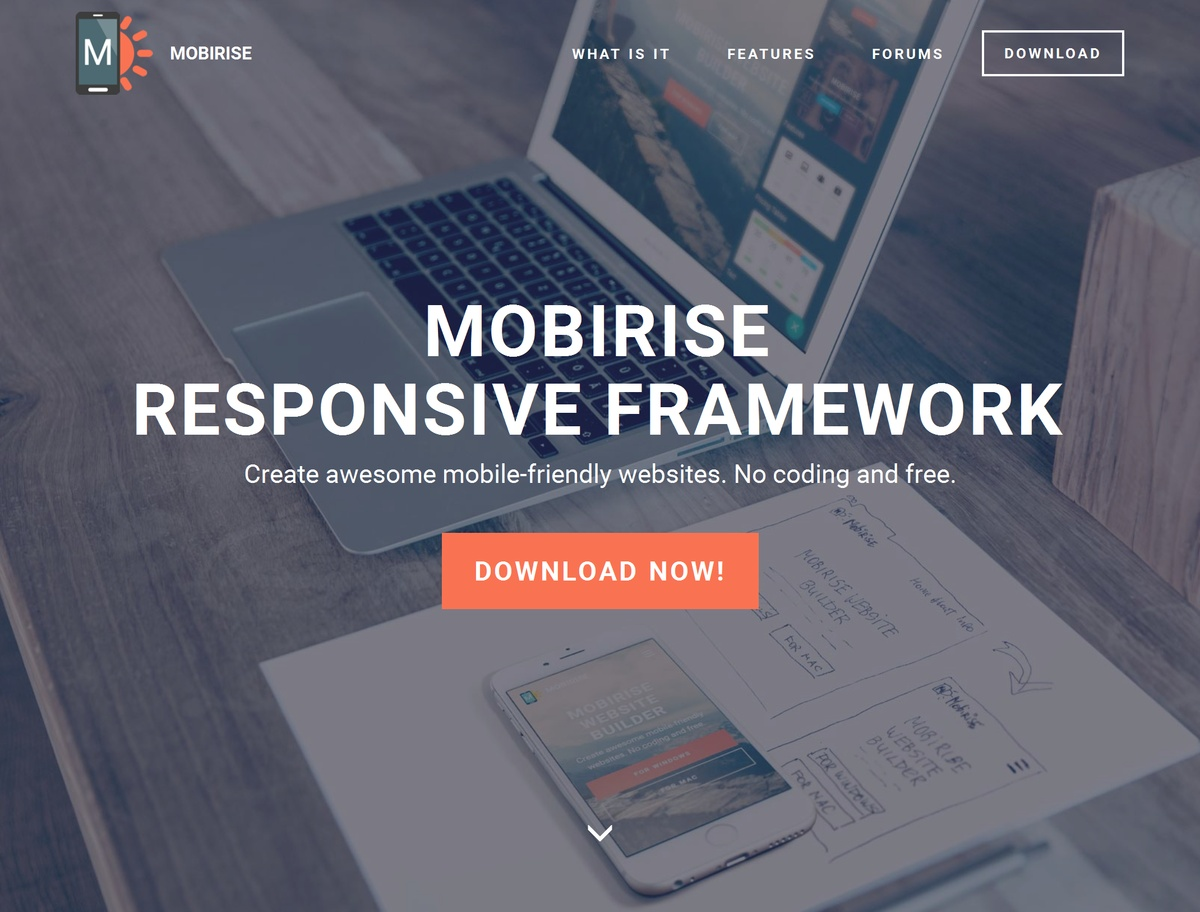 Simple Responsive Website Template