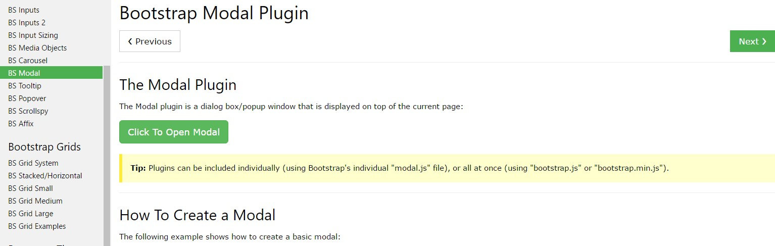 Bootstrap Modal Popup: tutorial  article